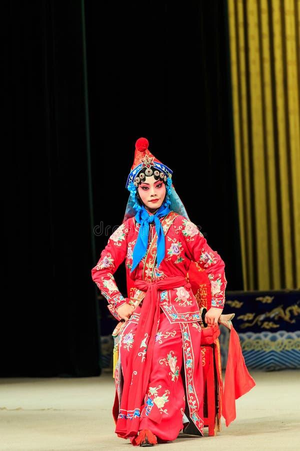 Απόδοση οπερών του Πεκίνου στοκ εικόνες