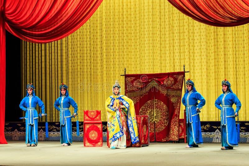 Απόδοση οπερών του Πεκίνου στοκ εικόνα με δικαίωμα ελεύθερης χρήσης