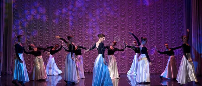 Απόδοση χορού στοκ εικόνες