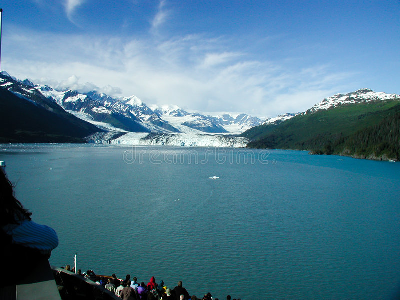 από την Αλάσκα παγετώνας στοκ φωτογραφία