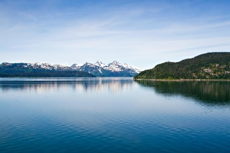 από την Αλάσκα σειρά βουνών στοκ φωτογραφία