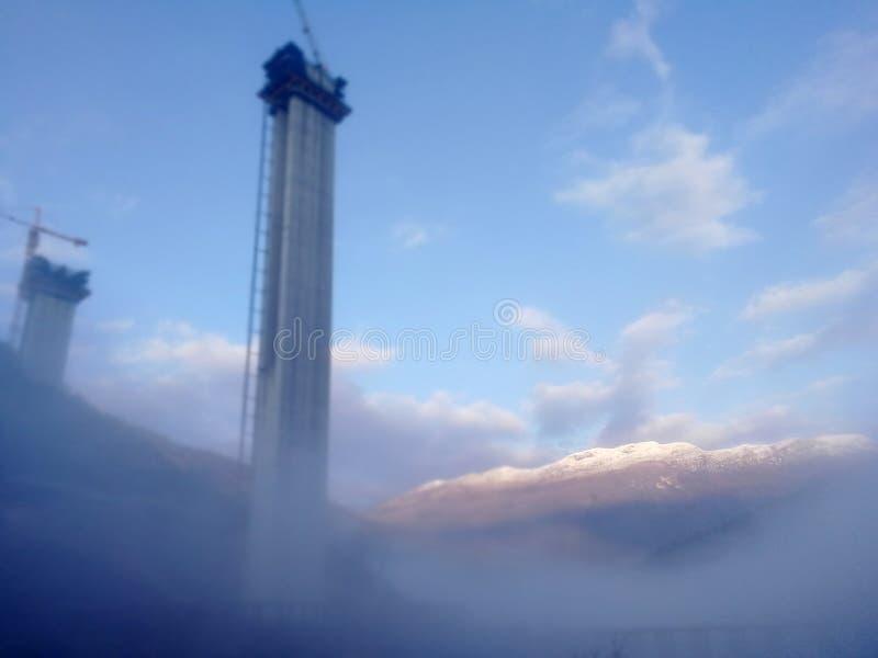 Από την ομίχλη στοκ φωτογραφία