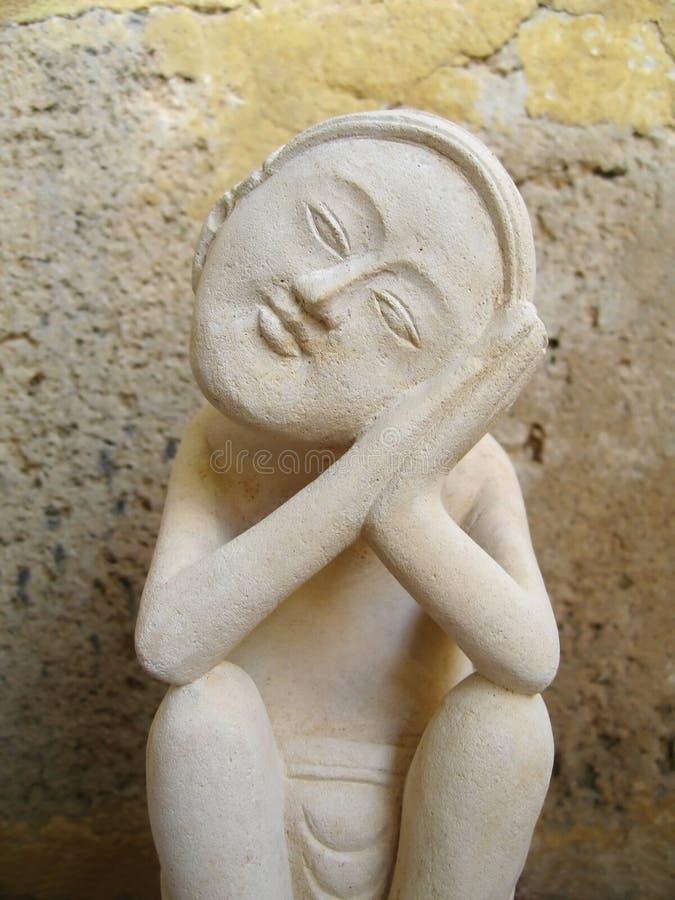 από το Μπαλί άγαλμα στοκ εικόνες