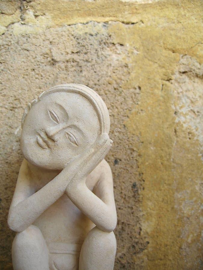 από το Μπαλί άγαλμα στοκ εικόνα με δικαίωμα ελεύθερης χρήσης
