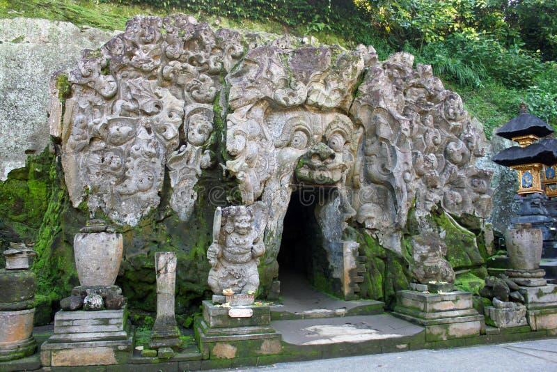 Από το Μπαλί είσοδος ναών κοντά σε Ubud στοκ φωτογραφία με δικαίωμα ελεύθερης χρήσης