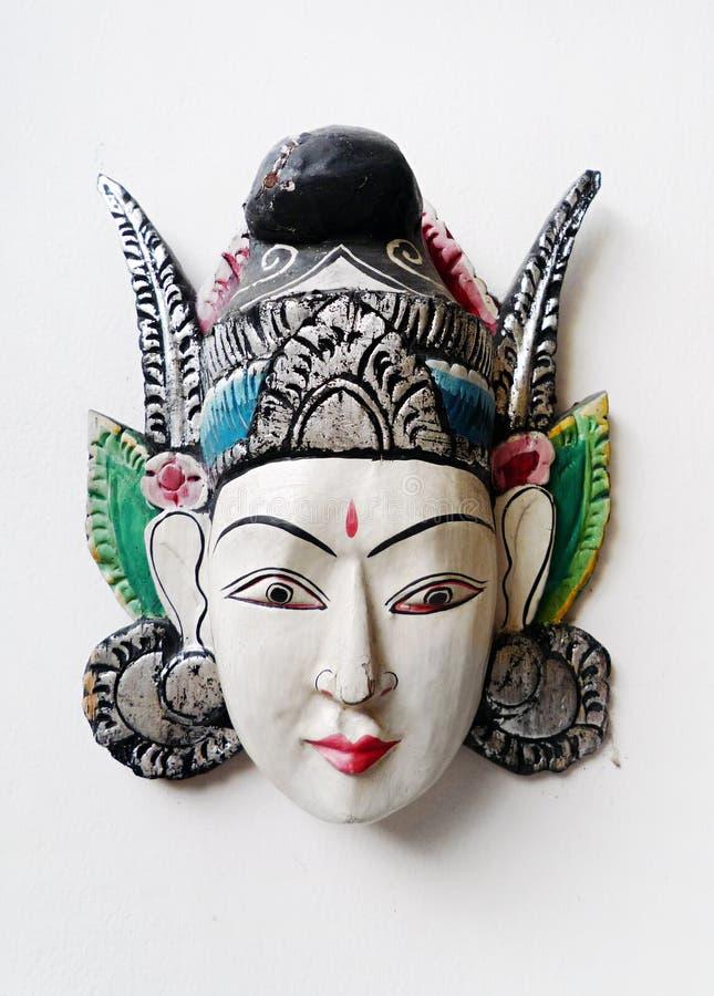 από το Μπαλί μάσκα βιοτεχνίας στοκ εικόνες