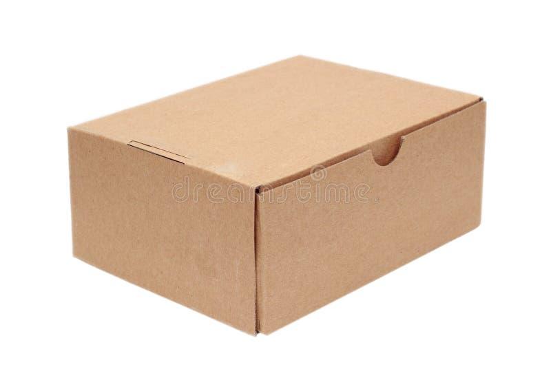 Απλό κιβώτιο χαρτοκιβωτίων στοκ εικόνα με δικαίωμα ελεύθερης χρήσης