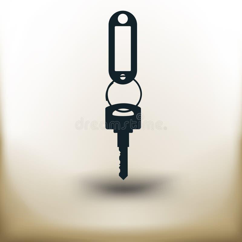 Απλό κλειδί ελεύθερη απεικόνιση δικαιώματος