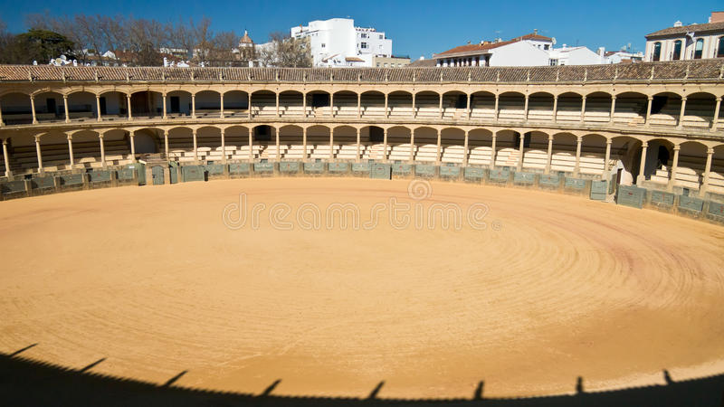αρένα ταυρομαχίας ronda Ισπανία στοκ φωτογραφίες με δικαίωμα ελεύθερης χρήσης