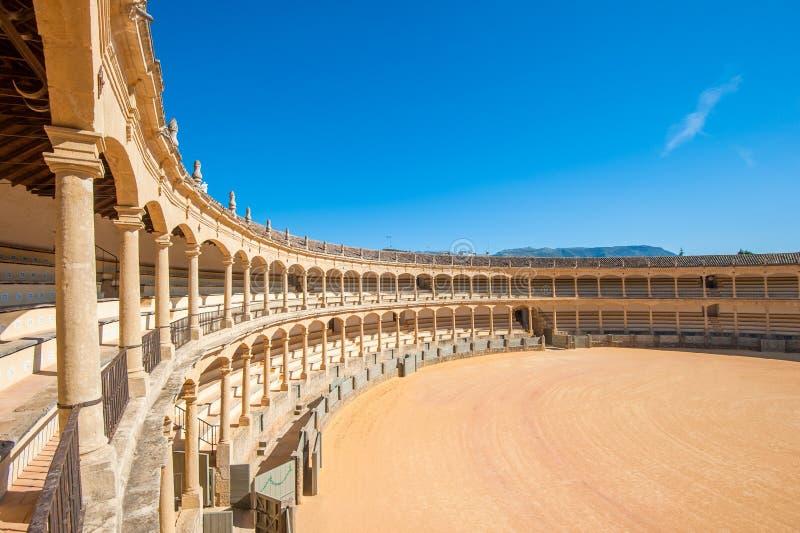 αρένα ταυρομαχίας ronda Ισπανία στοκ φωτογραφίες