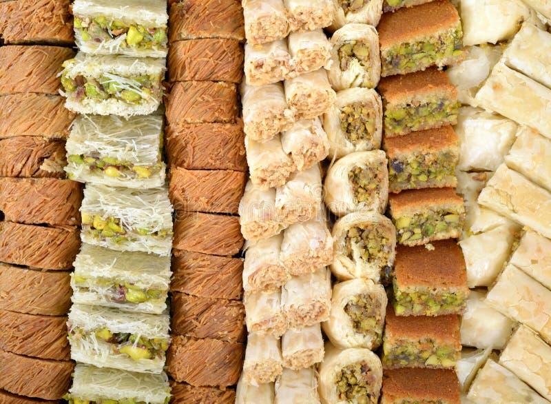αραβικά γλυκά στοκ φωτογραφίες με δικαίωμα ελεύθερης χρήσης