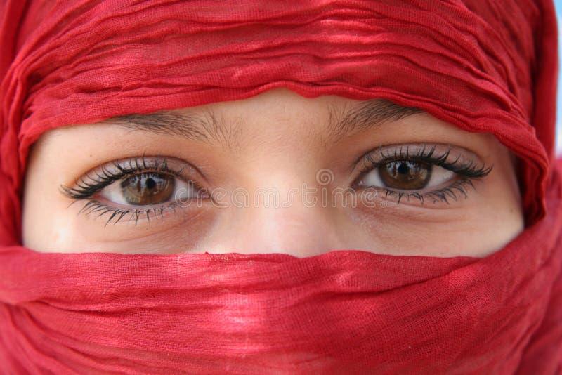 αραβικά μάτια στοκ εικόνες