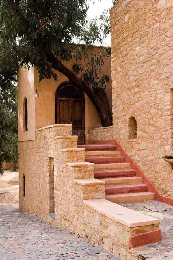 αραβική αρχιτεκτονική πα&l στοκ εικόνα