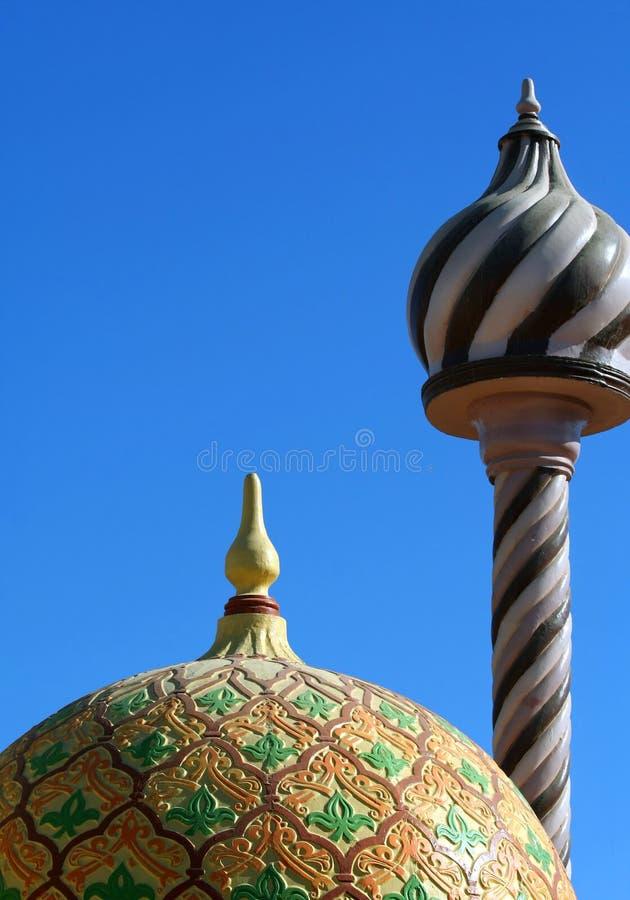 αραβική αρχιτεκτονική στοκ εικόνες