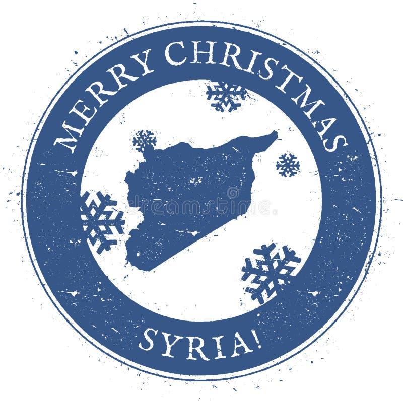 αραβική δημοκρατία Σύριος χαρτών διανυσματική απεικόνιση