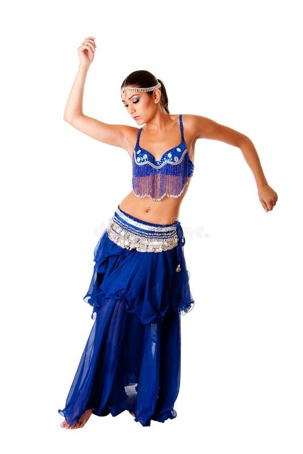 αραβικός χορευτής κοιλ στοκ φωτογραφία με δικαίωμα ελεύθερης χρήσης