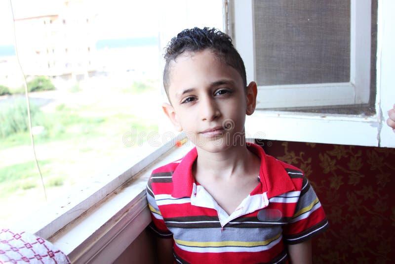 Αραβικό αιγυπτιακό παιδί στοκ εικόνες