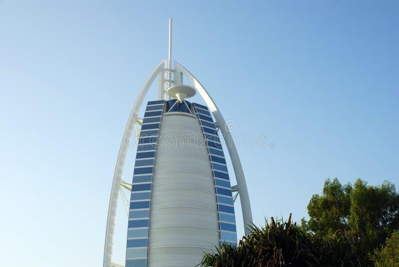 αραβικό ξενοδοχείο burj Al στοκ εικόνα με δικαίωμα ελεύθερης χρήσης