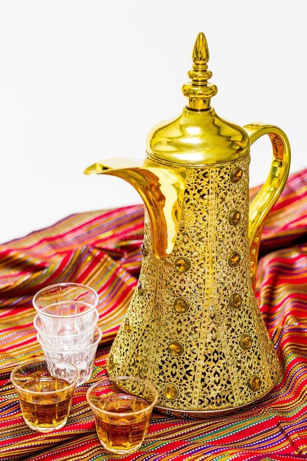 Αραβικό δοχείο καφέ στοκ εικόνα με δικαίωμα ελεύθερης χρήσης