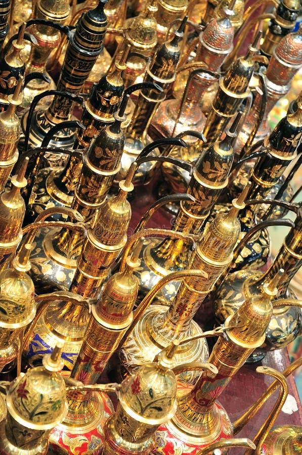 αραβικό παζάρι εμιράτων του Ντουμπάι που ενώνεται στοκ εικόνα