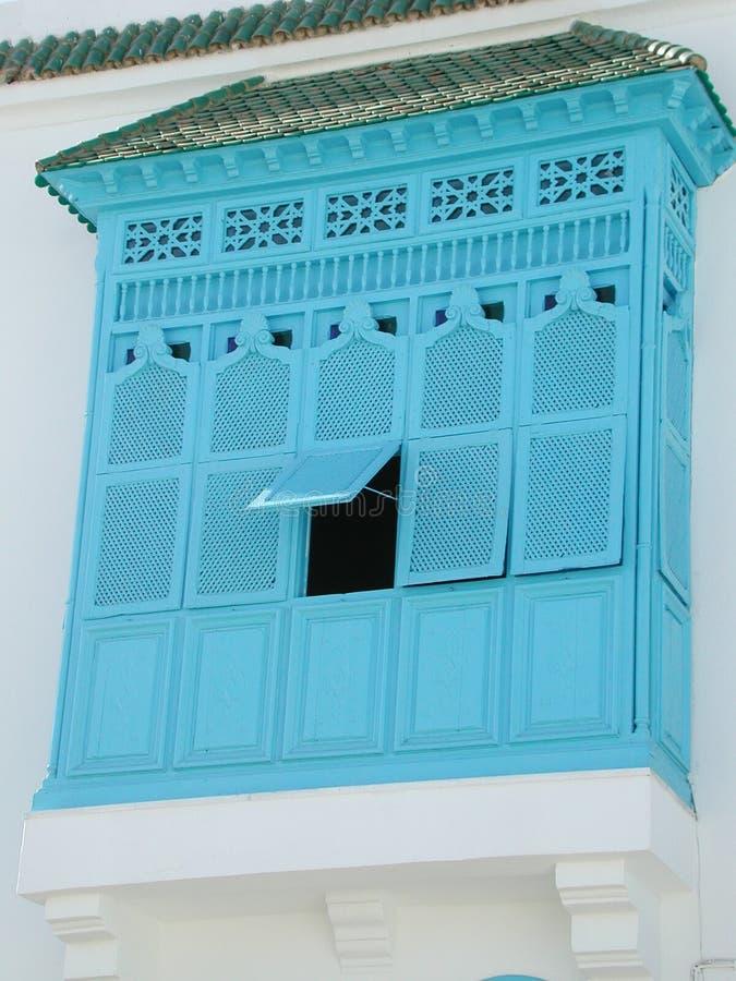 αραβικό παράθυρο στοκ εικόνα