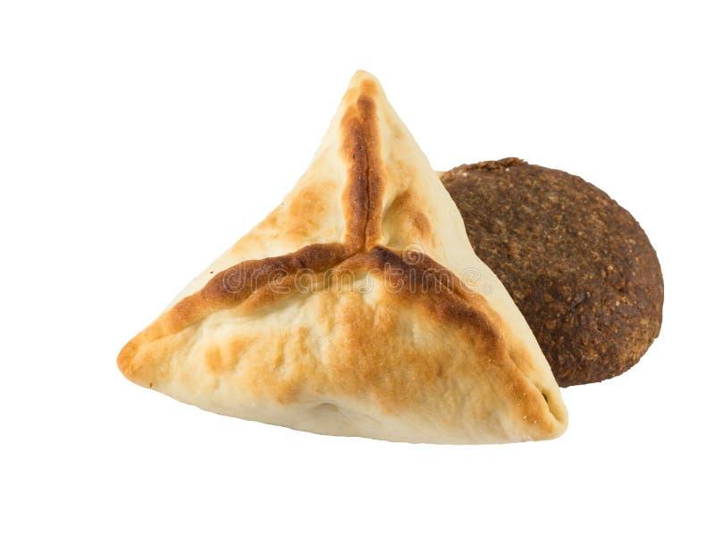 Αραβικό esfiha και kibbeh Manakish στοκ εικόνα με δικαίωμα ελεύθερης χρήσης