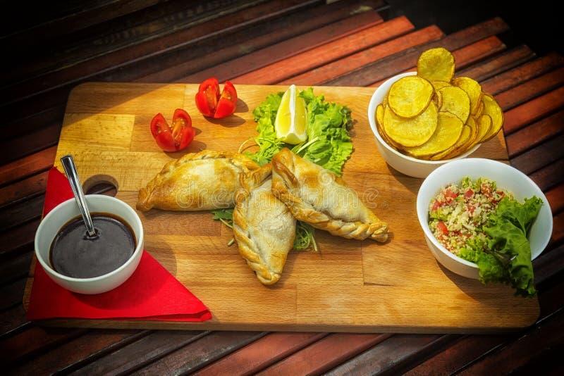 Αργεντινά empanadas στοκ φωτογραφίες