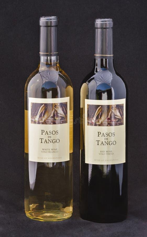 Αργεντινό κρασί Pasos de Tango στοκ εικόνα