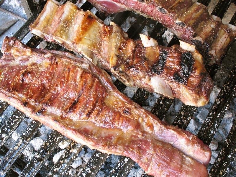αργεντινό asado στοκ φωτογραφίες με δικαίωμα ελεύθερης χρήσης