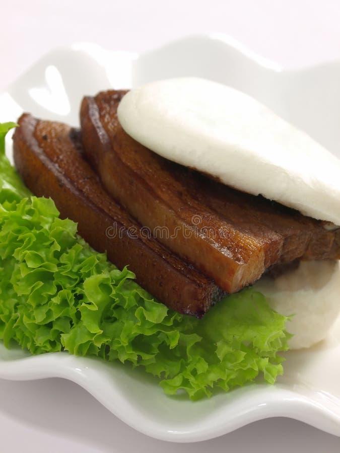 αργό χοιρινό κρέας κουλο& στοκ φωτογραφίες