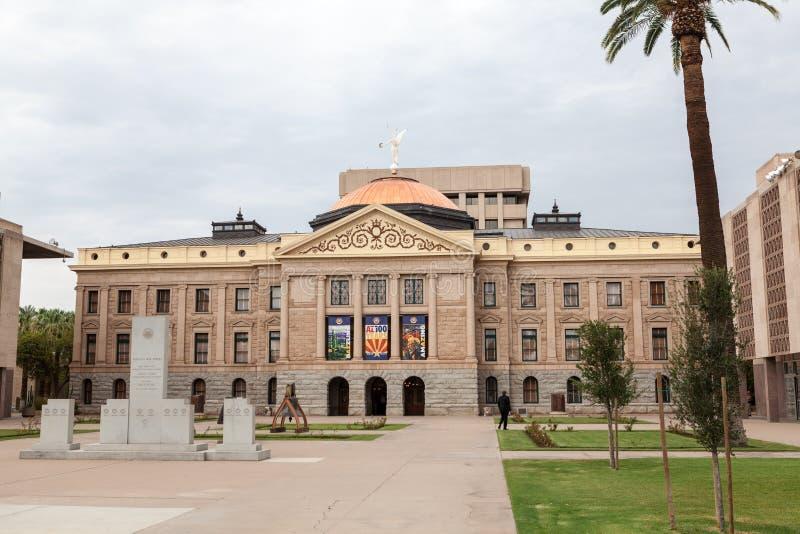 Αριζόνα Βουλή και κτήριο Capitol στοκ φωτογραφία με δικαίωμα ελεύθερης χρήσης
