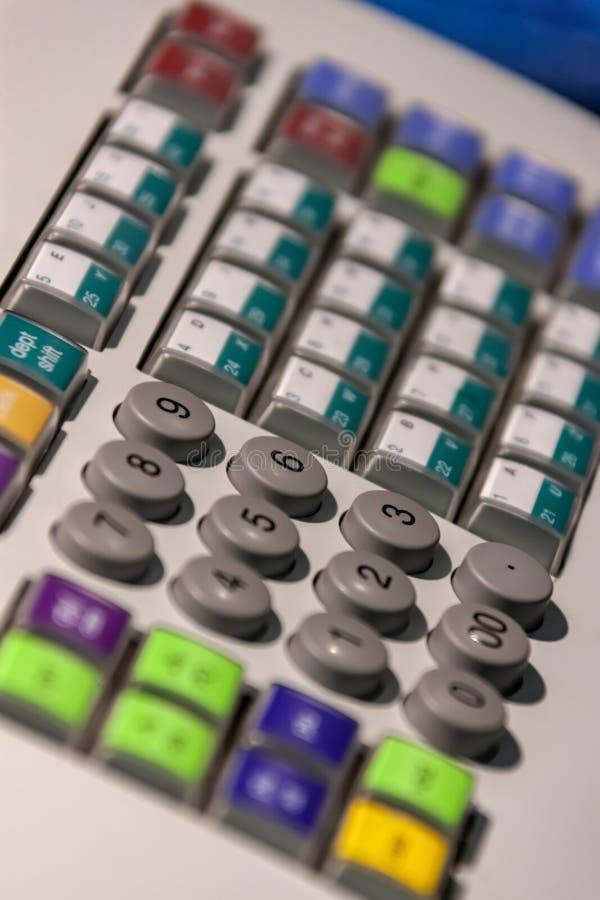 Αριθμητικό πληκτρολόγιο καταλόγων μετρητών στοκ φωτογραφίες με δικαίωμα ελεύθερης χρήσης