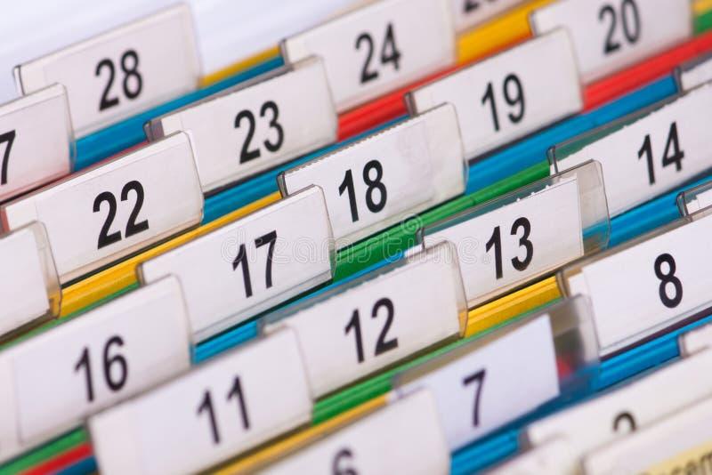 αριθμοί αρχείου στοκ φωτογραφία με δικαίωμα ελεύθερης χρήσης