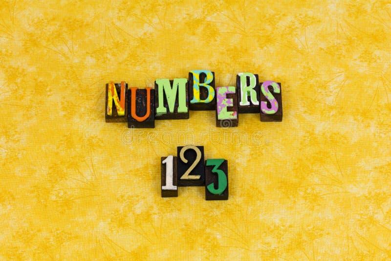 Αριθμοί 123 μετρώντας εκπαίδευση εκμάθησης στοκ φωτογραφία με δικαίωμα ελεύθερης χρήσης