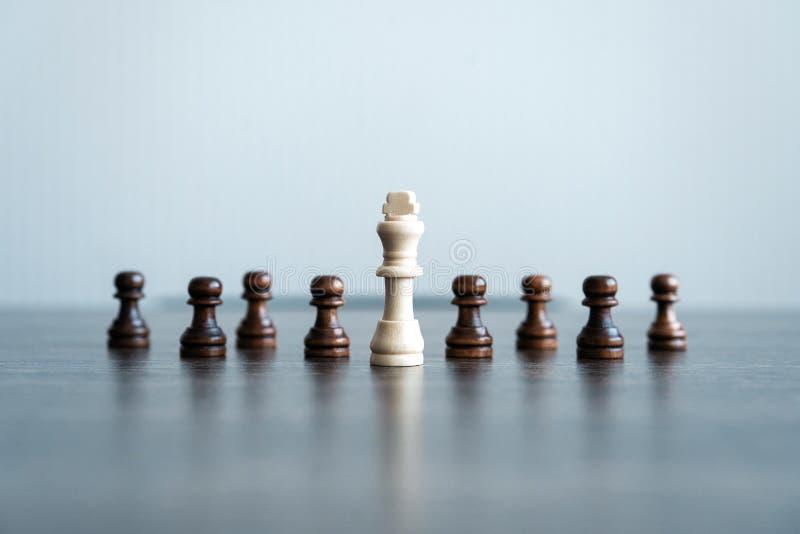 Αριθμοί σκακιού για τη σκακιέρα έννοια της επιχειρησιακής στρατηγικής και της τακτικής στοκ εικόνες με δικαίωμα ελεύθερης χρήσης