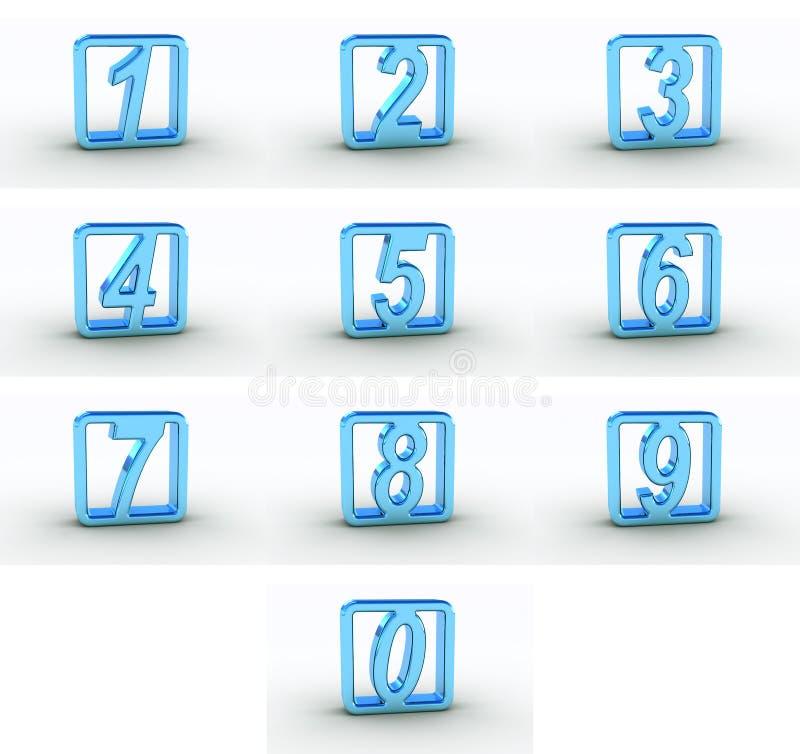 αριθμοί ελεύθερη απεικόνιση δικαιώματος