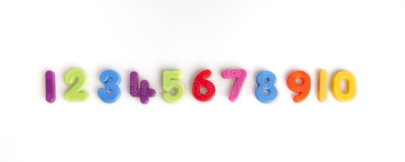 αριθμοί στοκ εικόνα