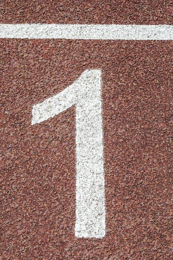 Αριθμός ένα… στοκ φωτογραφία