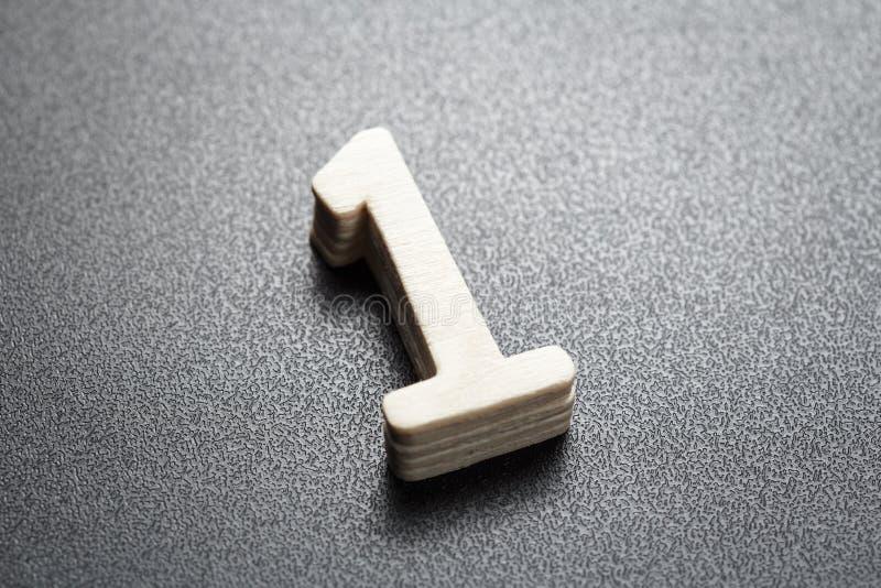 Αριθμός ένα ταξινομώντας σημάδι στοκ φωτογραφίες με δικαίωμα ελεύθερης χρήσης