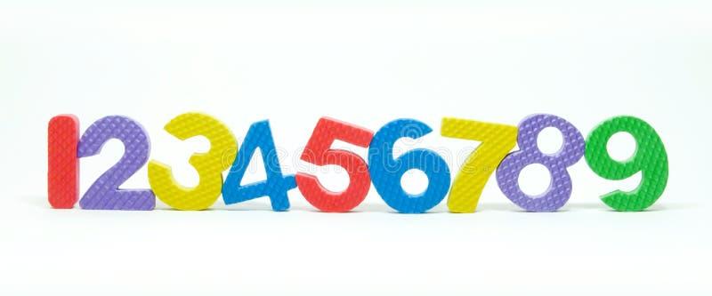 Αριθμός Αραβικά στοκ φωτογραφία