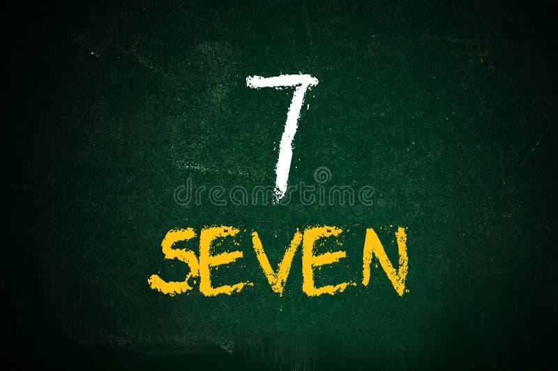 Αριθμός επτά στοκ φωτογραφίες με δικαίωμα ελεύθερης χρήσης