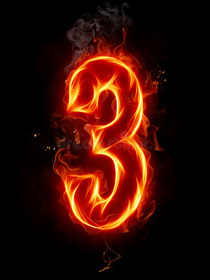 αριθμός πυρκαγιάς απεικόνιση αποθεμάτων