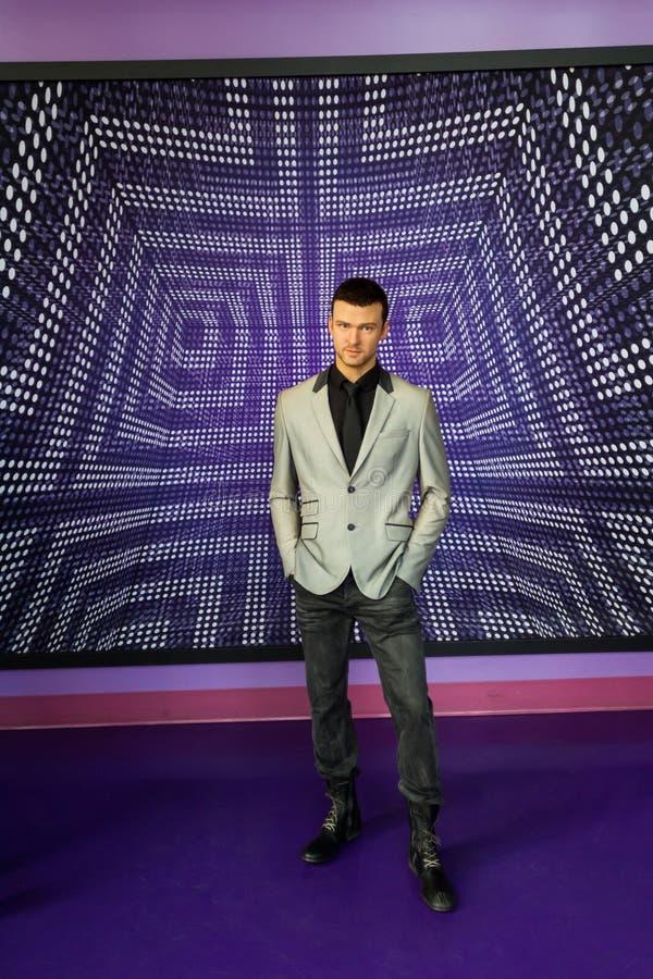 Αριθμός του Justin Timberlake στοκ φωτογραφίες