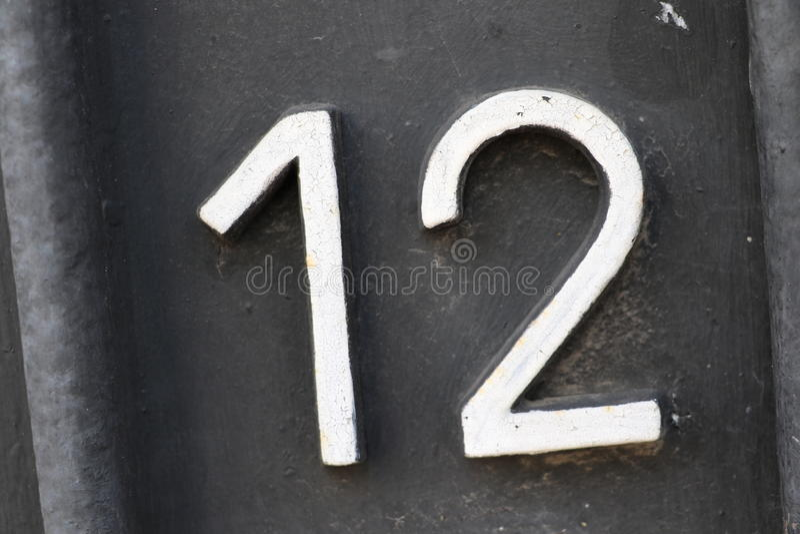 Αριθμός 12 στοκ εικόνες με δικαίωμα ελεύθερης χρήσης