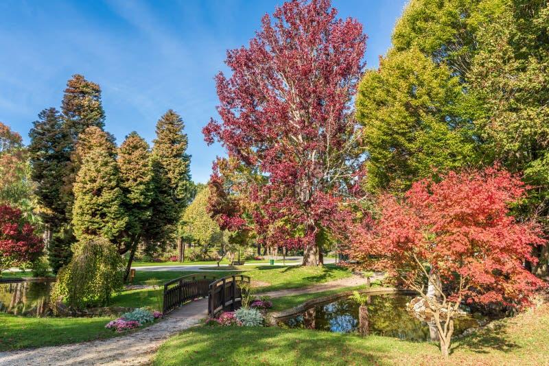 """Αρκασόν, Γαλλία, το """"Parc Mauresque """" στοκ φωτογραφία με δικαίωμα ελεύθερης χρήσης"""