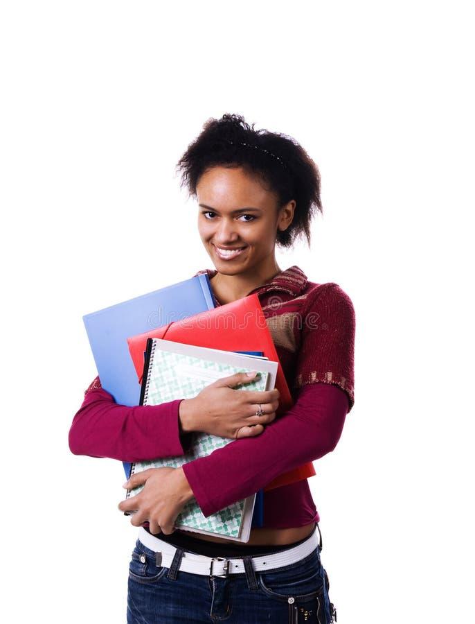 Download Αρκετά αφρικανικός σπουδαστής Στοκ Εικόνα - εικόνα από άνθρωποι, πράσινος: 13184687