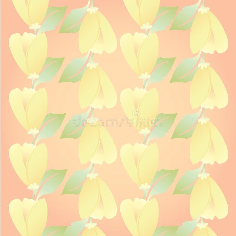 Αρκετά πορτοκαλής Floral στο θερινή περίοδο λουλούδι για το χαριτωμένο υπόβαθρο στοκ εικόνες