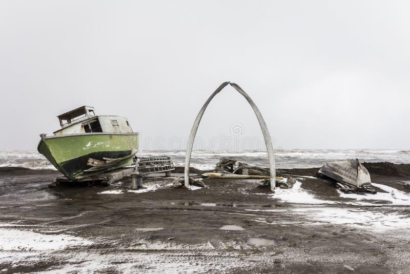 Αρκτική έκταση στοκ εικόνες με δικαίωμα ελεύθερης χρήσης