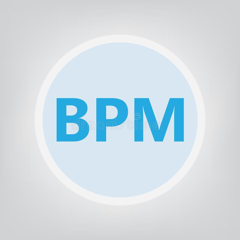 Αρκτικόλεξο επιχειρησιακής διαχείρισης διαδικασιών BPM ελεύθερη απεικόνιση δικαιώματος