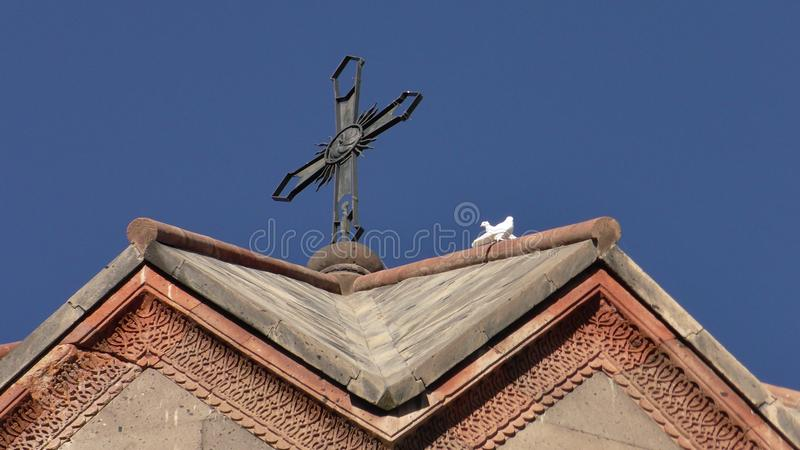 Αρμενία, επαρχία Aragatsotn Ohanavank στοκ φωτογραφίες